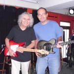 Der tolle Albert Lee mit Gitarrist Andi Lux.