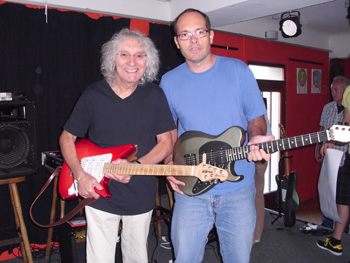 Albert Lee mit Andi Lux