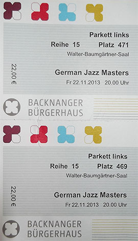 German Jazz Masters Backnang