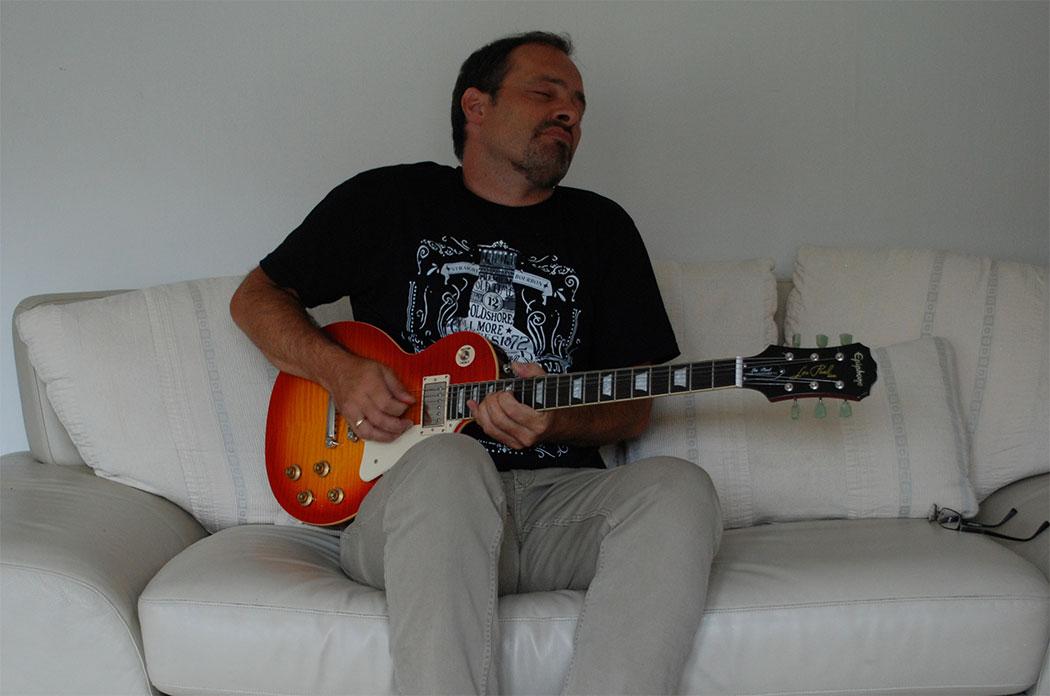 Andi Lux Bluesgitarrist Rockgitarrist
