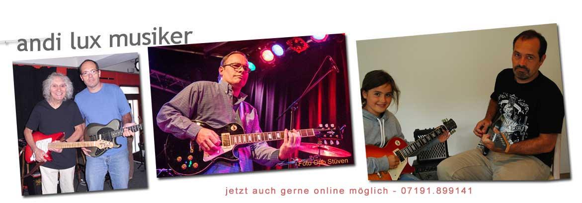 Andi Lux Musiker Sänger Gitarrist
